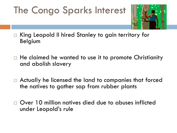 The Congo Sparks Interest