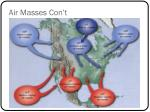 air masses con t1