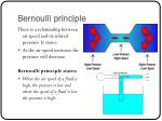 bernoulli principle