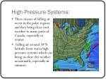 high pressure systems1
