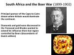 south africa and the boer war 1899 1902