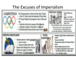 the excuses of imperialism