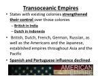 transoceanic empires