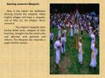 dancing around a maypole