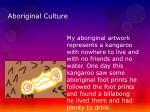 aboriginal culture