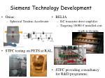 siemens technology development