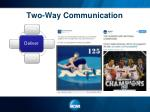 two way communication4