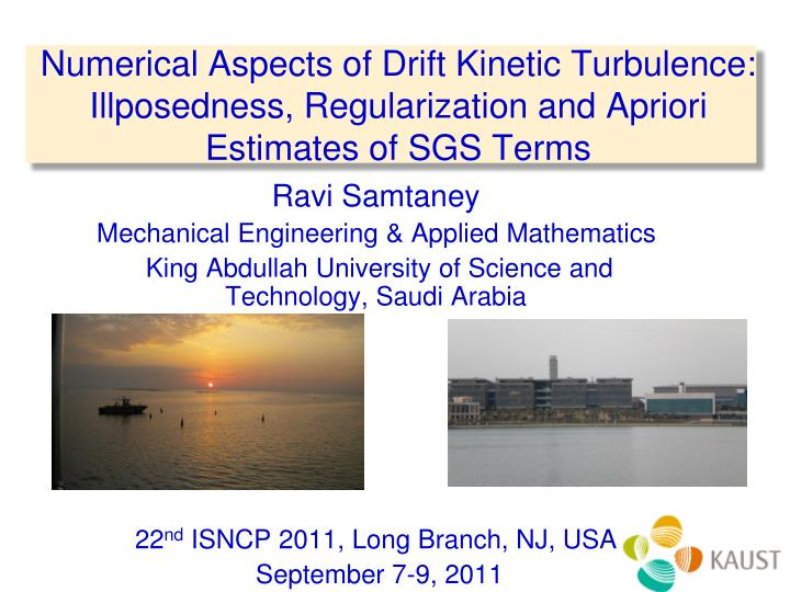 Numerical Aspects of Drift Kinetic Turbulence: