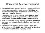 homework review continued3