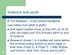 violence and youth