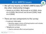 2 4 mrfss issues