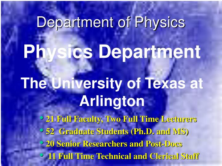department of physics n.