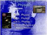 department of physics1