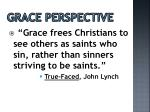 grace perspective
