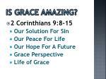 is grace amazing