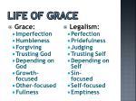 life of grace