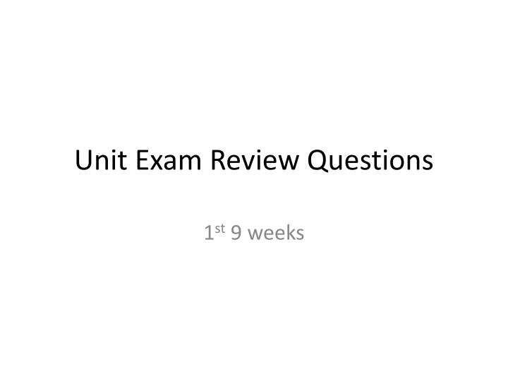 5 05 review questions I am an instructor at our local college and would like to know if there is an answer sheet to the chapter review questions for my instructor book.