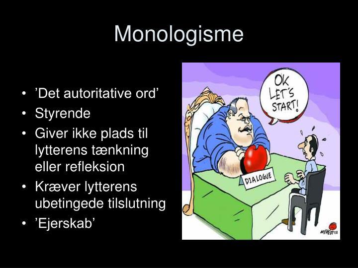 Monologisme