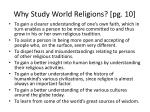 why study world religions pg 10
