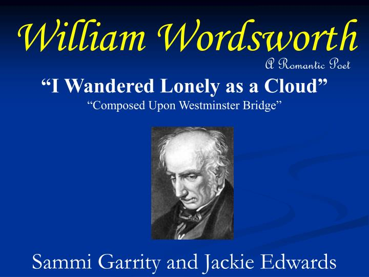 essays on wordsworth poetry Description and explanation of the major themes of wordsworth's poetry this accessible literary criticism is perfect for anyone faced with wordsworth's poetry essays, papers, tests, exams, or for anyone who needs to create a wordsworth's poetry lesson plan.
