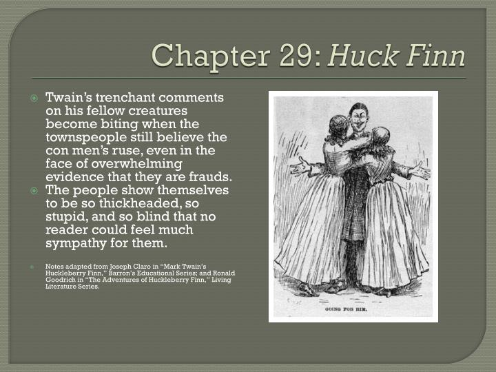 characters of huckleberry finn book report Watch video huckleberry finn is one of mark twain's most beloved characters, and the book mark twain's masterpiece it was told from the southern perspective, and twain takes romanticism away from slavery.
