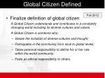 global citizen defined