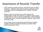 importance of records transfer1