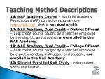 teaching method descriptions3