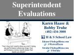 superintendent evaluations1