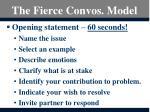 the fierce convos model2