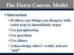 the fierce convos model4