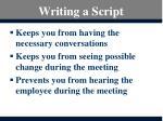 writing a script1