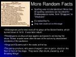 more random facts