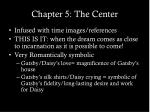 chapter 5 the center