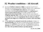 32 weather conditions all aircraft