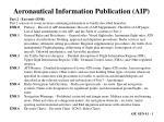 aeronautical information publication aip1