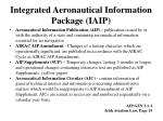 integrated aeronautical information package iaip