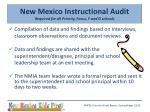 new mexico instructional audit required for all priority focus f and d schools