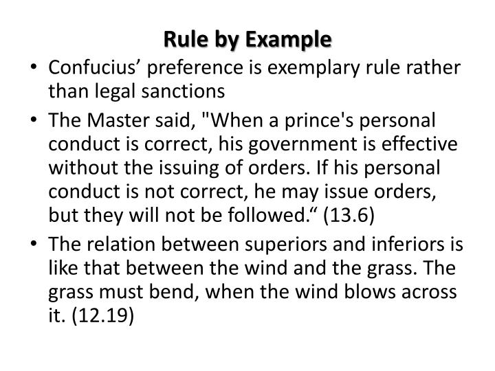 Rule by Example