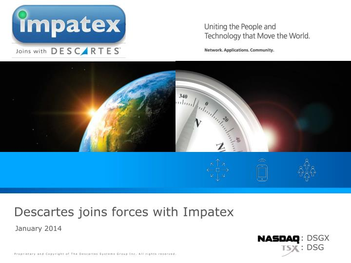descartes joins forces with impatex n.