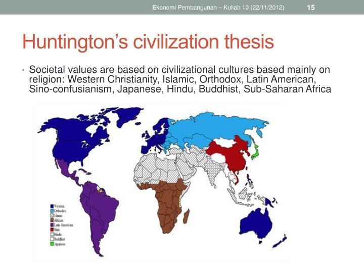 huntingtons thesis