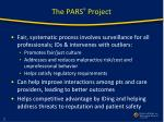 the pars project