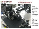 howfs mechanical