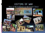 victims of war peace reconciliation via restorative justice