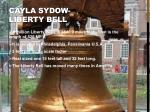 cayla sydow liberty bell