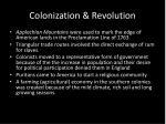 colonization revolution