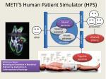 meti s human patient simulator hps7