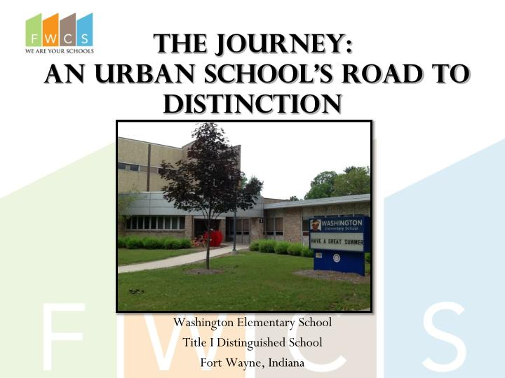 the journey an urban school s road to distinction n.