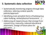 3 systematic data collection