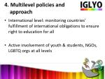 4 multilevel policies and approach1